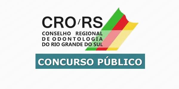 Concurso CRO-RS