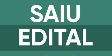 Saiu Edital